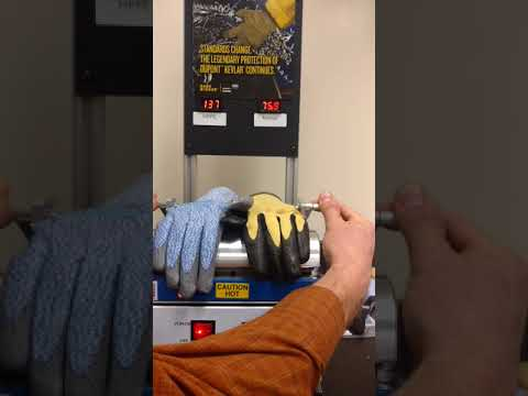 Heat Resistance HPPE vs SHOWA 4561 With Kevlar