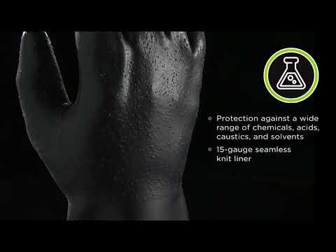SHOWA 3415 - Chemical Resistant Glove In Neoprene