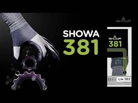 SHOWA 381 - Lightweight General Purpose Glove With Microfibre Liner & Excellent Grip