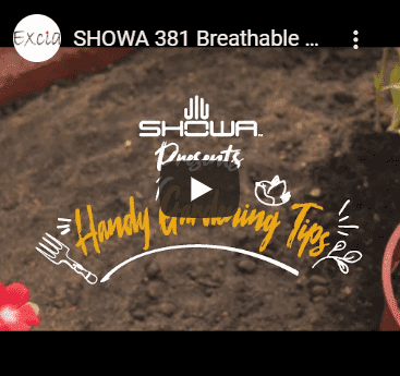SHOWA 381 Breathable Microfibre Gloves