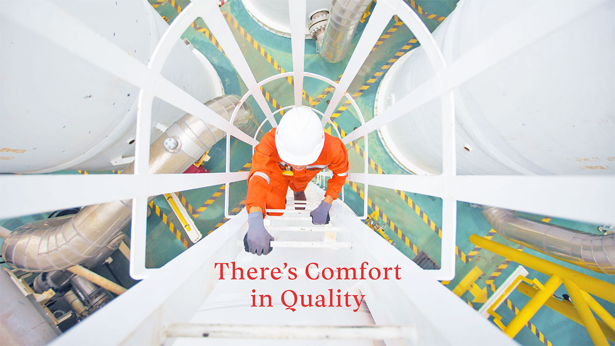 There's Comfort in Quality