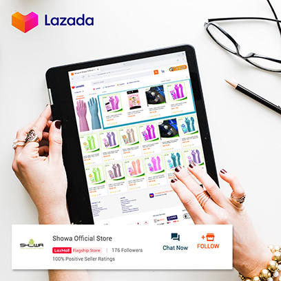 We're Now On Lazada